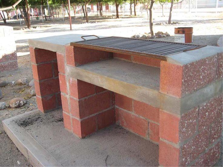 25 best ideas about asadores de ladrillos on pinterest for Asadores de concreto para jardin
