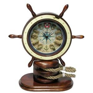 Nautical Table Desk Clock