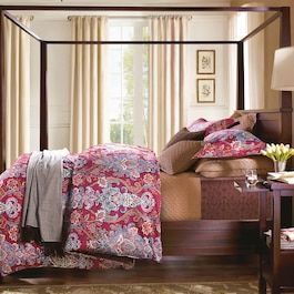 Textured Paisley Bedding Collection