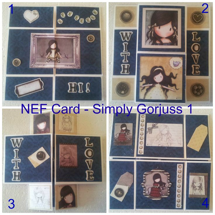 Never Ending Folding Card Simply Gorjuss 1