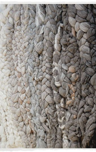 Beautiful Braided Textures #textiles // Dana Barnes Studio