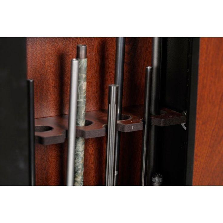10 Gun Cabinet Safe Metal Closet Vault Wall Diversion Stash Hidden Guns  Brown