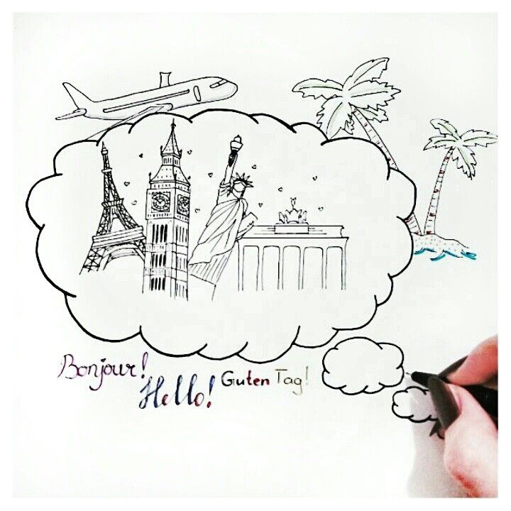 Tumblr drawing travel