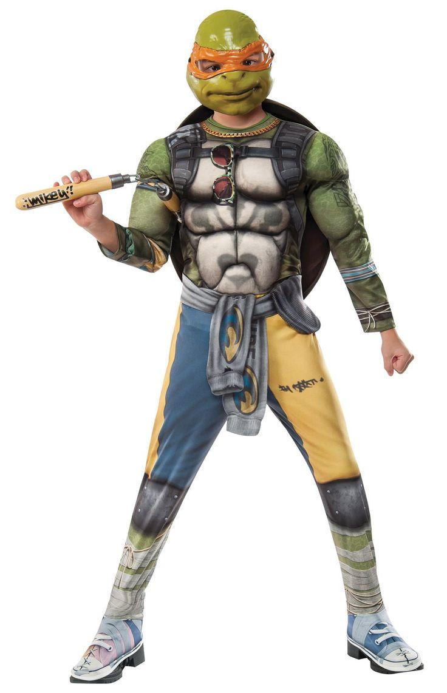 Tmnt2 Michelangelo Child Larg