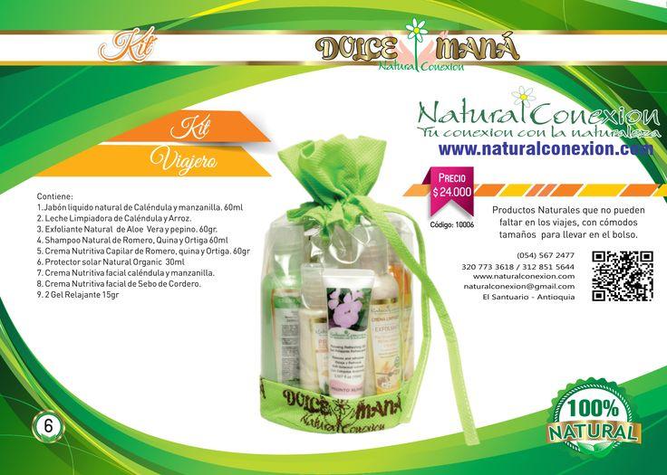 Para que celebres esta fecha tan especial de Amor y Amistad, y demuestres todo tu amor con toda la energía de la naturaleza; Regala Kit Viajero, en cómodo tamaño para llevar en tu bolso. Visítanos en www.naturalconexion.com, informes 567 2477.