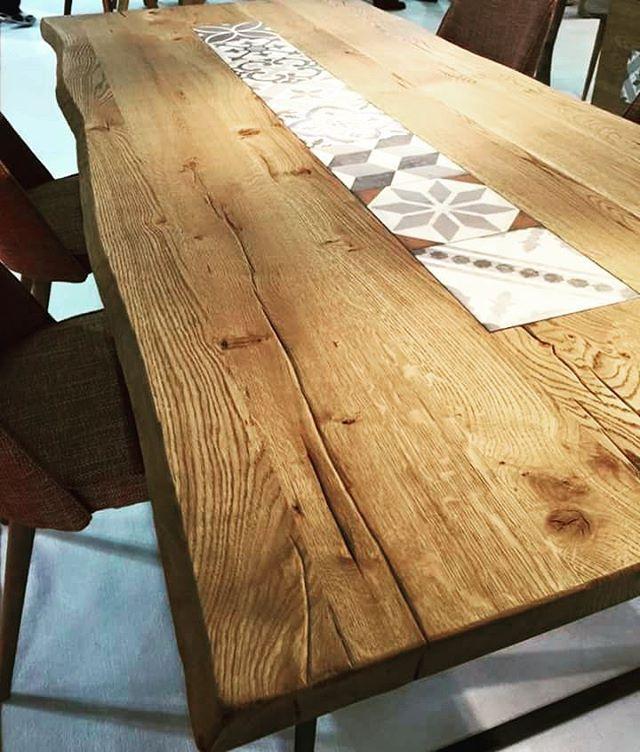 Insipirational combination with cement tiles & solid oak. Looks great.  #inspire #design #tiles #wooden #oak #solidwood #vintagestyle #industrialdesign #furnituredesign #furnitureshop #interiorideas #interiordesign #interiors #architecture #architectural #decoration #deco #επιπλα_περιστέρι #έπιπλα_ίλιον #έπιπλα_μασίφ #Οίκαδε #athens