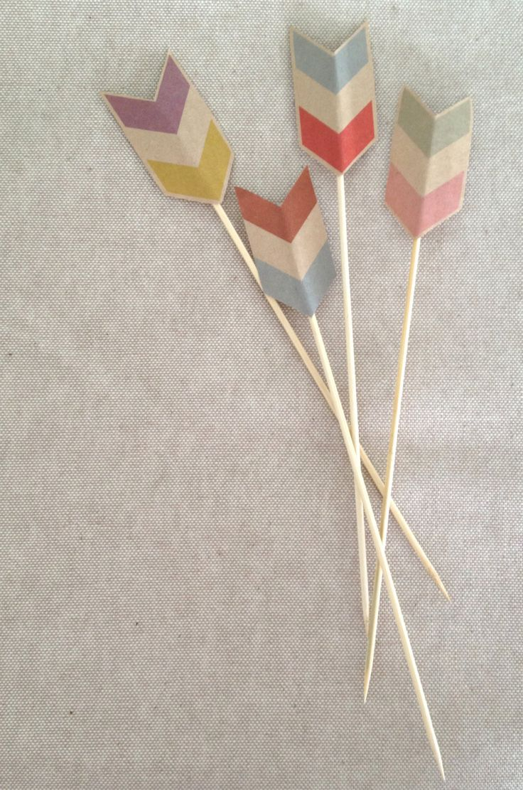 Chevron Cake Toppers: Chevron Cupcakes, Drinks Stirrers, Rustic Chevron, Cupcakes Toppers, Kraft Paper, Country Wedding, Parties Ideas, Chevron Cakes, Cake Toppers