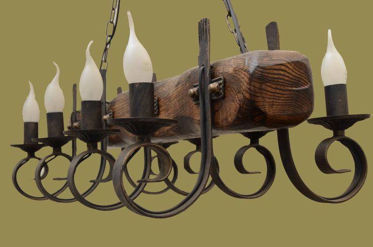 Модель: Кованая люстра ISFIR балка (8 свечек) Производитель: ISFIR Тип: люстры, Люстра-Балка, Люстры на цепи Количество источников света: 7-9 Материал: дерево, метал Цоколь: E14 80x15x15см высота до чашки 60см