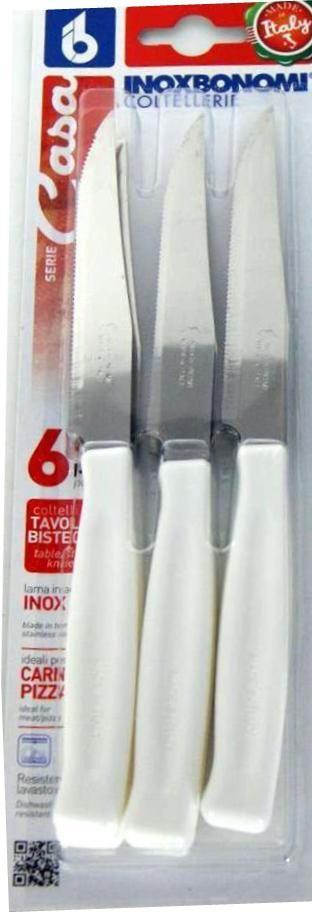 BONOMI SET COLTELLI DA TAVOLA E BISTECCA 6 PEZZI MANICO BIANCO https://www.chiaradecaria.it/it/utensili-da-cucina/2883-bonomi-set-coltelli-da-tavola-e-bistecca-6-pezzi-manico-bianco-8007684820261.html