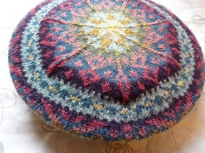 I LOVE color work....  The technique I want to learn this year.  FadedSplendorTop by Feralknitter, via Flickr