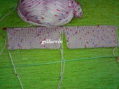 iki şişle yapılan en kolay çorap yapımı - gulsevincehobi - Blogcu.com