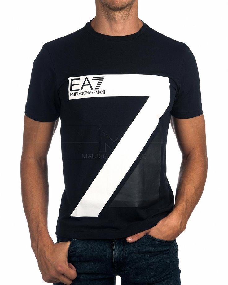 Camisetas ARMANI EA7 ® Azul Marino ✶ Big Seven | ENVÍO GRATIS