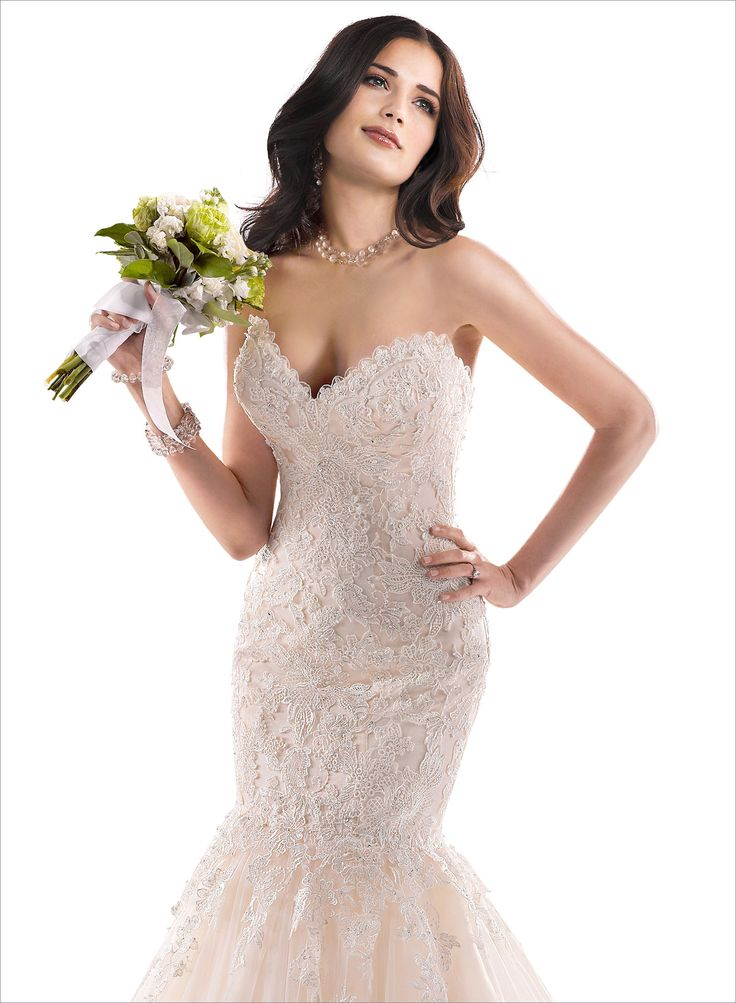 Maggie Sottero Marianne...this is pretty. Combines the beading and lace