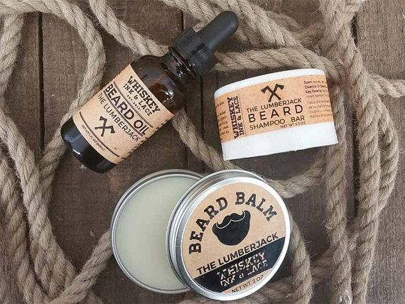 The Lumberjack Beard Kit Cedarwood & by WhiskeyInkandLace on Etsy