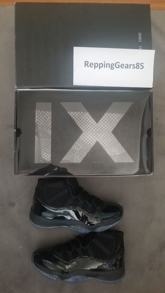 Jordan Retro XI 11 Low Prom Cap and Gown Basketball Shoes Size 9.5 ... 5e6b6be53