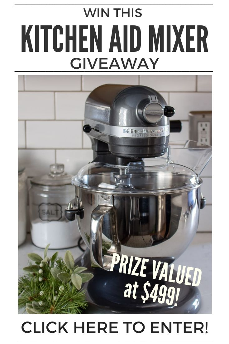 Win A New Kitchen Aid Mixer for the Holidays   Home Decor ...