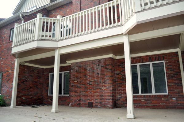 Deck & Patio Living - Under Deck Ceilings Photo Set - Elegant Under Deck Ceiling Installation in Edwardsville, IL
