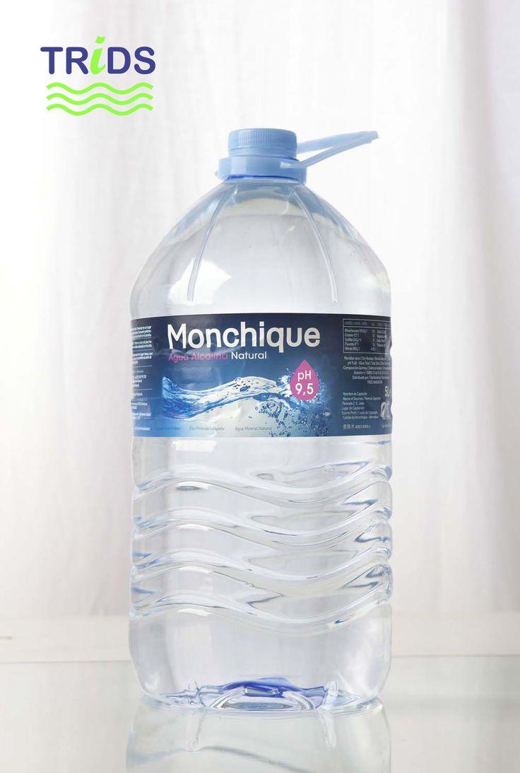 Garrafa agua Monchique de 5 litros