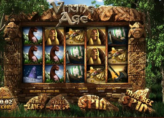 Play Viking Age, a 3D Slot Machine @ Sweet Bet
