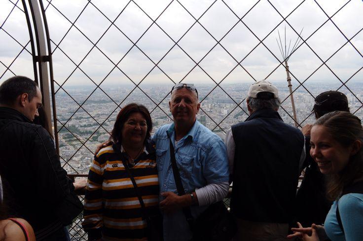 Paris .... Mum and dad