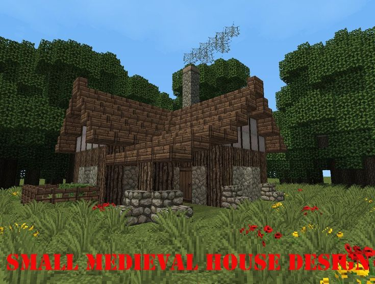 Minecraft simple small house designs minecraft for Medieval house design