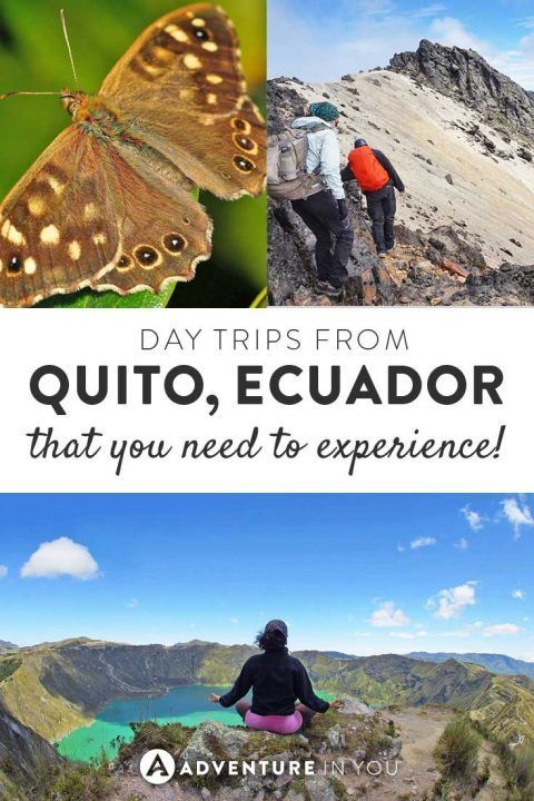 Quito Ecuador | Looking for fun day trips from Quito? Here are a few of our top picks from hiking Cotopaxi to seeing the Quilotoa Lake, there are so many things to see and do while you're in this town.