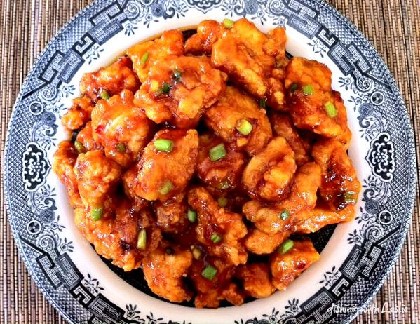 Chino Bandido's famous jade red chicken recipe. A must-try if you've had the original in Phoenix!