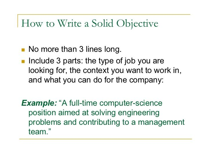 The 25+ best Career objectives for resume ideas on Pinterest - example of job objective for resume