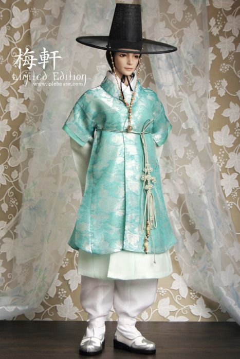 한복 Hanbok : Korean traditional clothes[dress]  : Dolls Hanbok