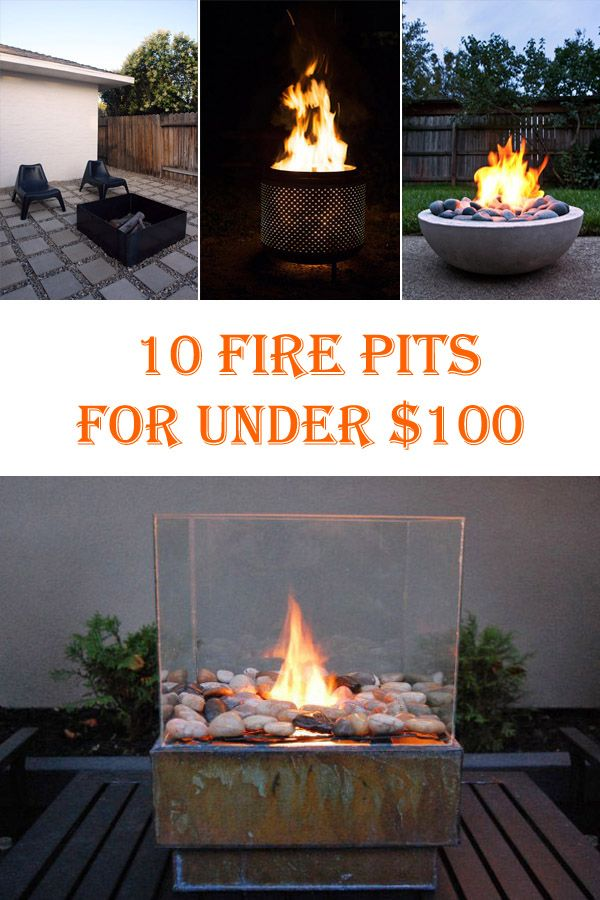 10 Cheap DIY Fire Pits