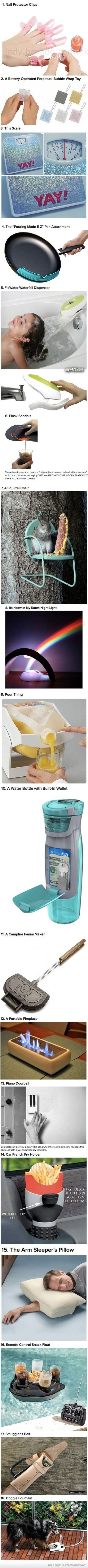 Things you didn't know existed - i genuinely want some of these, but the french fry holder is too weird!