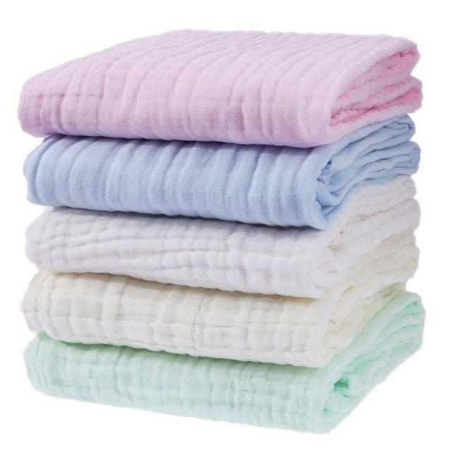 Baby Blankets Newborn Swaddle Wrap Thicken Muslin Cotton Swaddle Newborn Bedding