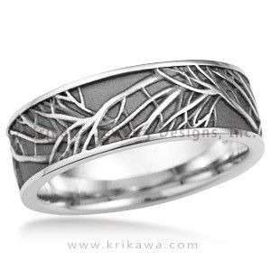 Tree of Life Eternity Wedding Band