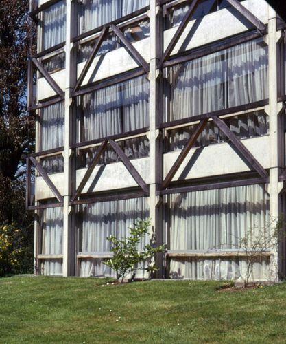 Garden Building, St. Hilda, Oxford - Alison & Peter Smithson, (1967