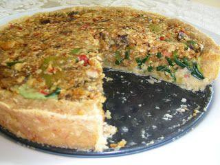 Sós torta, krumplipüré és barátfüle:-) ~ Nyers konyha