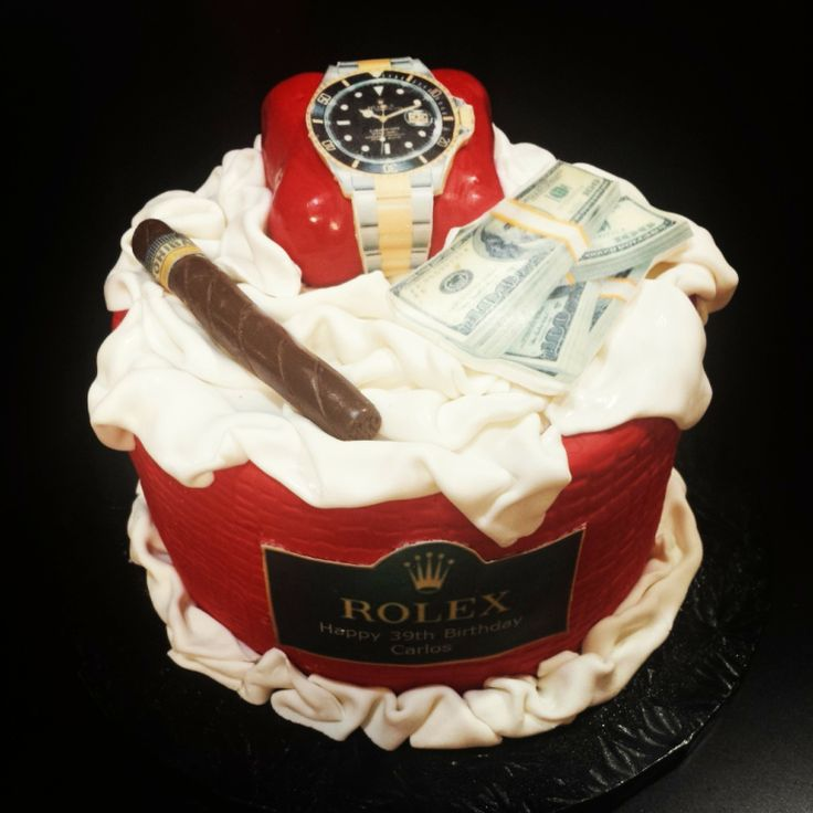 Rolex Cake...perfect Gift For Your Father/brother/husband