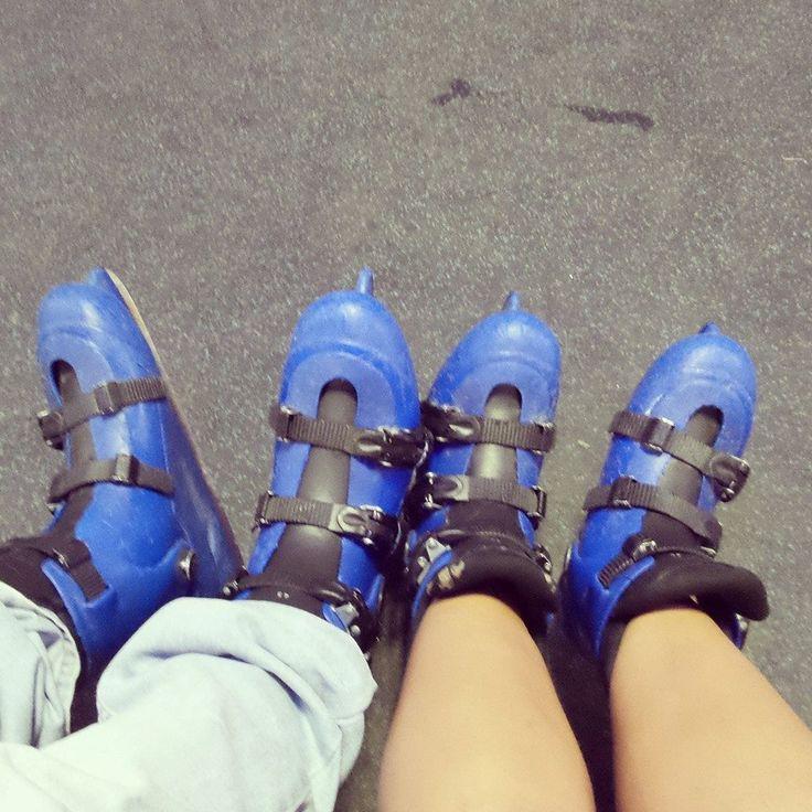 Patitas patinadoras <3 29.12.13.  Un año <3