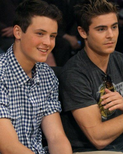 Zac Efron & his brother Dylan   Brothers   Pinterest