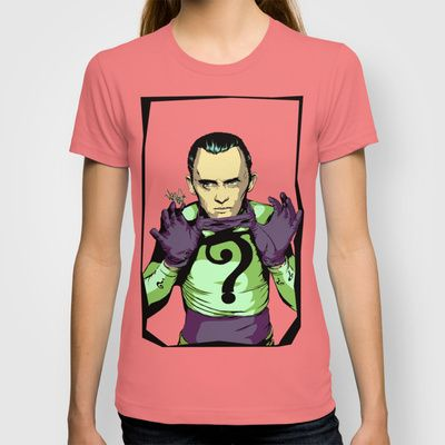 Why E. Nigma? T-shirt by Vee Ladwa - $18.00