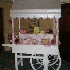 Full Sweet Cart Hire with Sweets