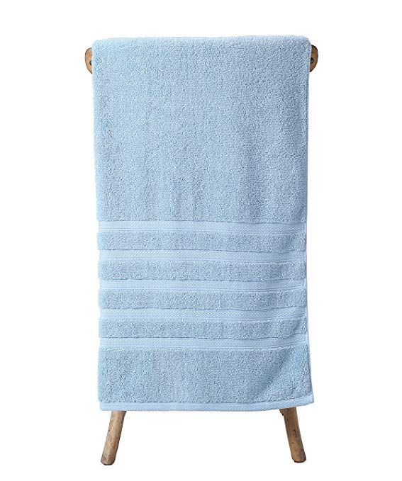 Metrekey Large Bath Towel Luxury Hotel Spa Collection Absorbent