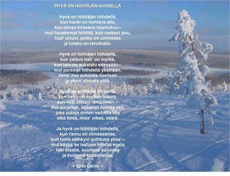 Eino Leino's poem