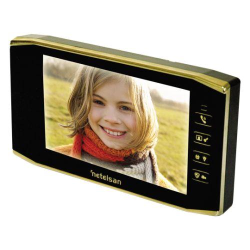 netelsan,görüntülü diafon,Warrior x7 Gold Görüntülü Diafon Paneli