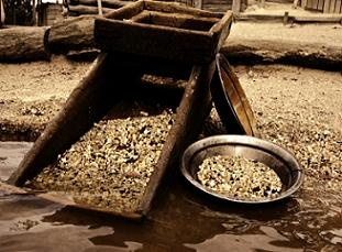 Panning for gold treasure hunting pinterest