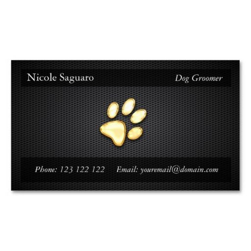 1000 images about dog trainer business cards on pinterest for Dog trainer business card