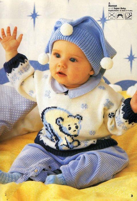 Пуловер с медвежонком.. Обсуждение на LiveInternet - Российский Сервис Онлайн-Дневников