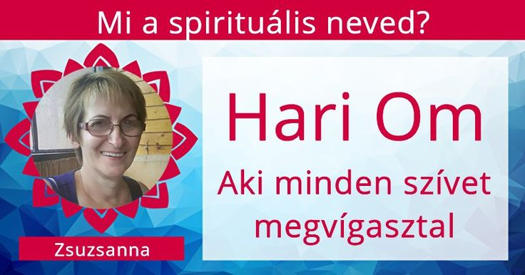 Mi a spirituális neved?