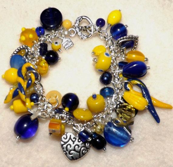 Down Syndrome Awareness  Bracelet. $24.00, via Etsy.