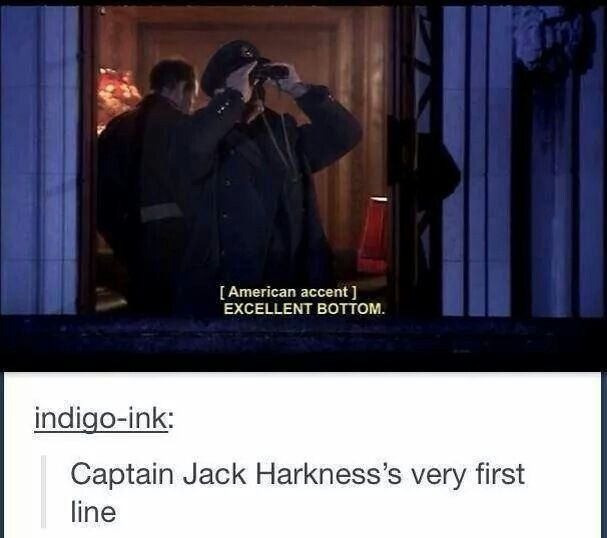 Introduction to Captain Jack Harkness. My absolute favorite