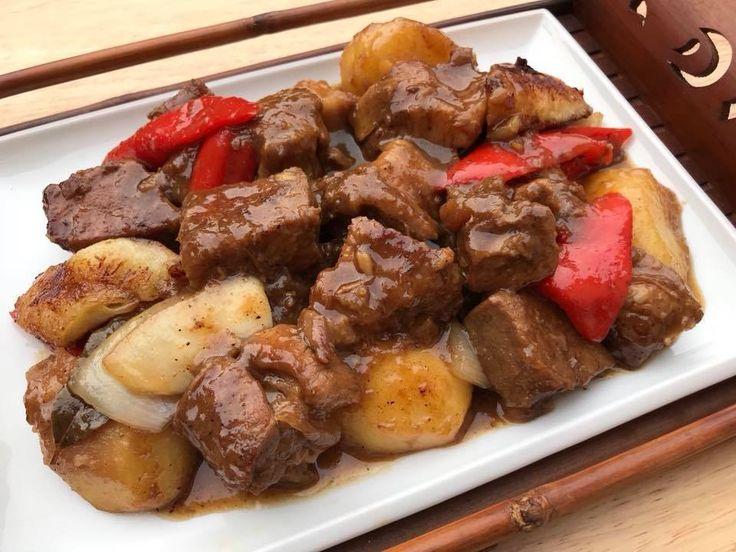 Pork Estofado, Estofado, Filipino Recipe, Filipino Food, Filipino Pork Recipe, Filipino Easy Recipe